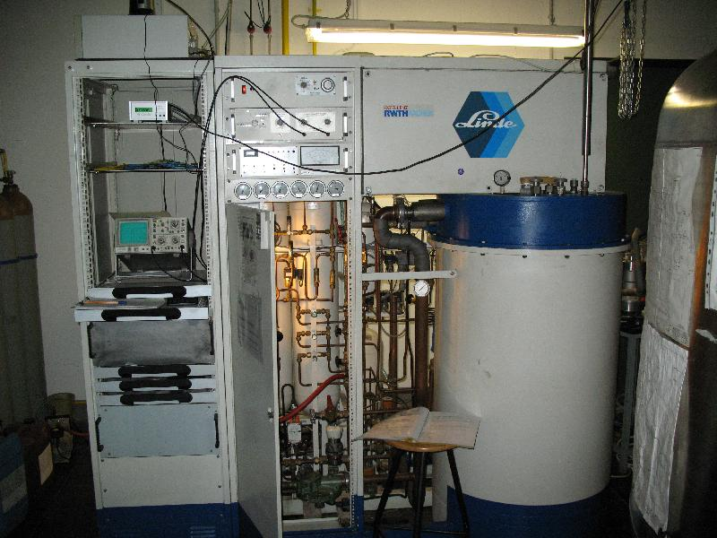 Helium liquefier - 2nd Institute of Physics A